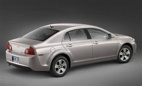 2008 chevrolet malibu hybrid car and driver