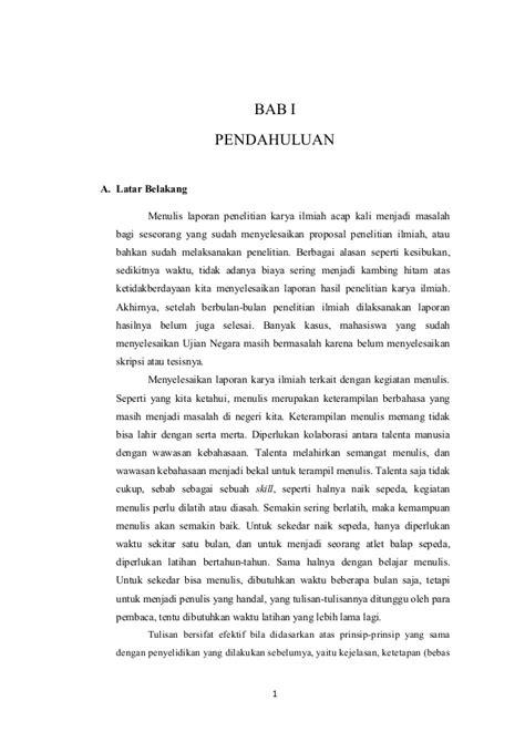 format makalah laporan penelitian contoh latar belakang makalah laporan proposal skripsi