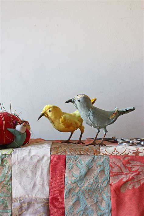 Handcrafted Birds - recreational patchwork and 18th century songbirds