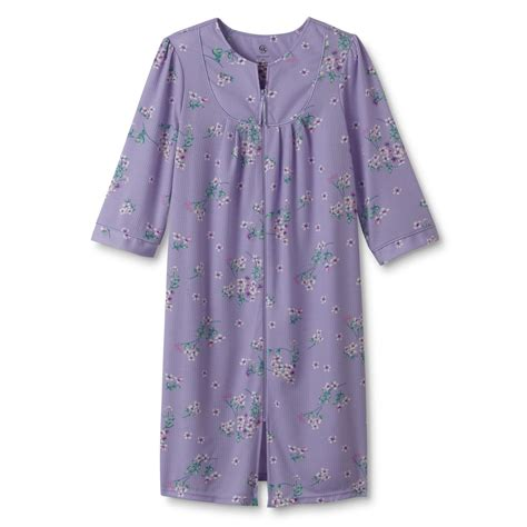Daster Floral Ds 038 Granada S Plus Duster Robe Floral