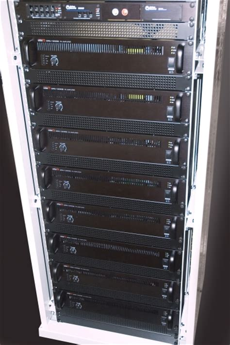Pa Rack Cabinet cie pa av rack design build system rack build