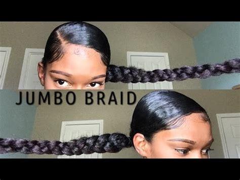 jumbo braid with bang jumbo braid ponytail with kanekalon hair natural hair