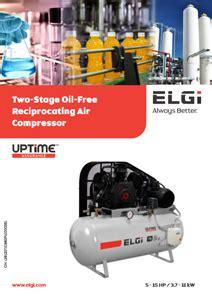 hp  stage oil  piston compressors