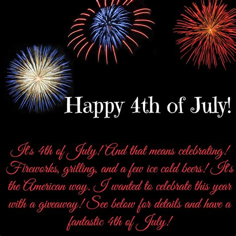 Happy 4th by Happy 4th Of July Giveaway Unbound Pages