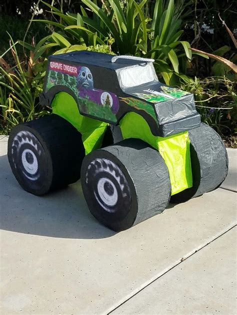 grave digger truck birthday supplies best 25 grave digger cake ideas on easy boy