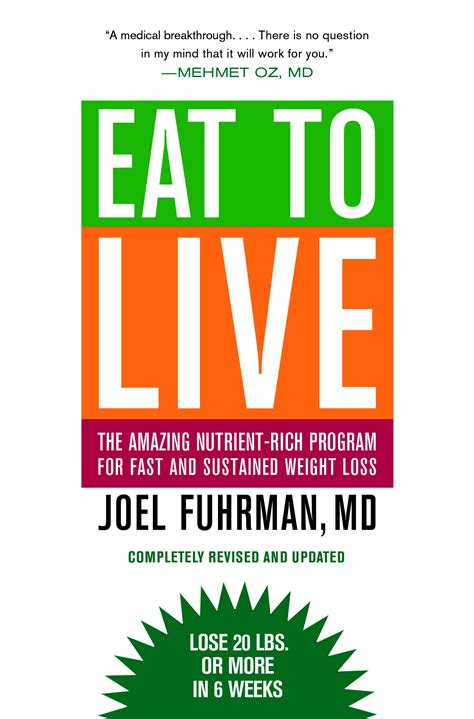 the book of big weight loss books eat to live diet review