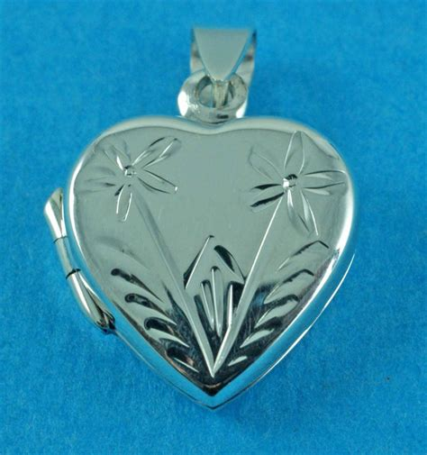 wholesale sterling silver lockets on jewellery world