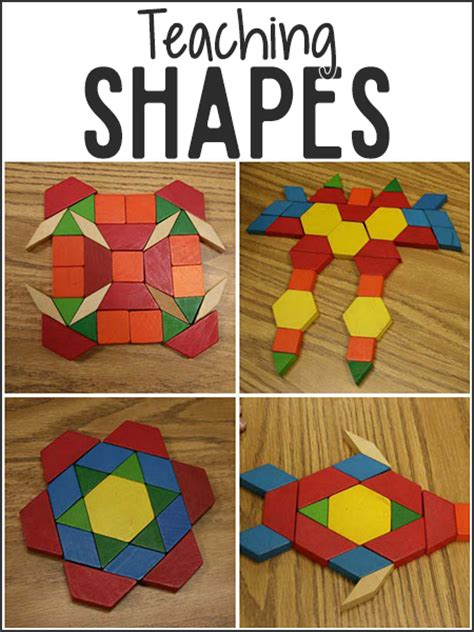 pattern games to play in the classroom teaching shapes in pre k prekinders