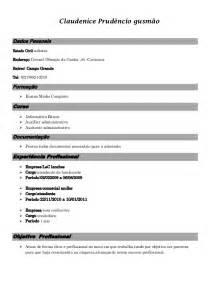 Modelo Curriculum Vitae Para Vendedores Modelo Curriculo