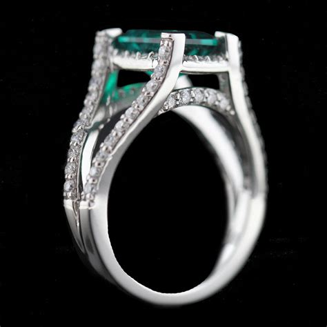emerald engagement rings get as emerald green surges