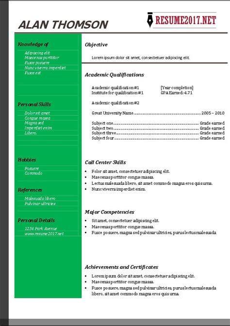Resume Template Free 2017 Learnhowtoloseweight Net Free Current Resume Templates