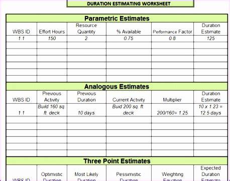 10 Effort Estimation Template Excel Exceltemplates Exceltemplates Sap Effort Estimation Template Excel
