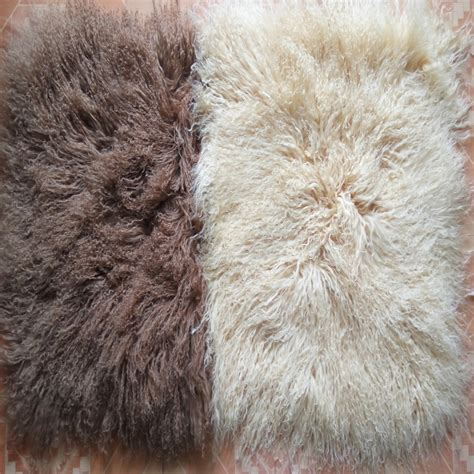 2016 free shipping real genuine throw beige and camel