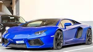 Lamborghini Aventador Blue Price Blue Lamborghini Aventador Lp700 4 Review And Driving
