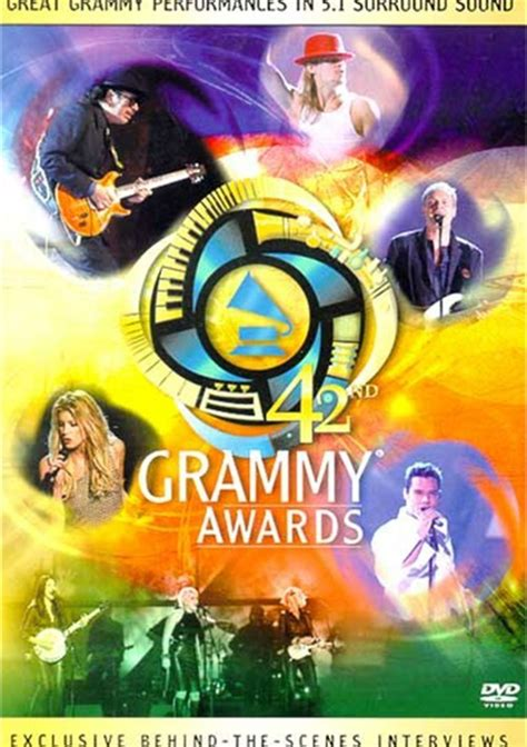 42nd Annual Juno Awards by 42nd Annual Grammy Awards Dvd 2000 Dvd Empire