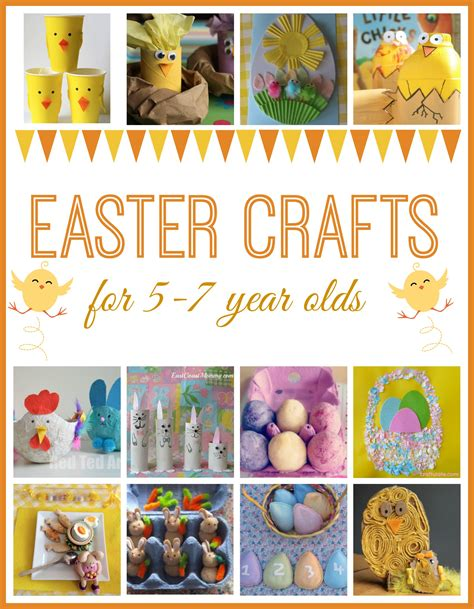 crafts for 7 year olds easter crafts for here come the