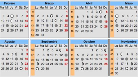 Calendario Lunar De Embarazo Calendario Lunar Embarazo Calendarios Embarazo