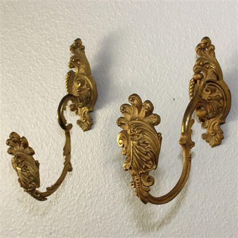 antique drapery tiebacks antique gilded bronze drapery curtain tie backs tiebacks