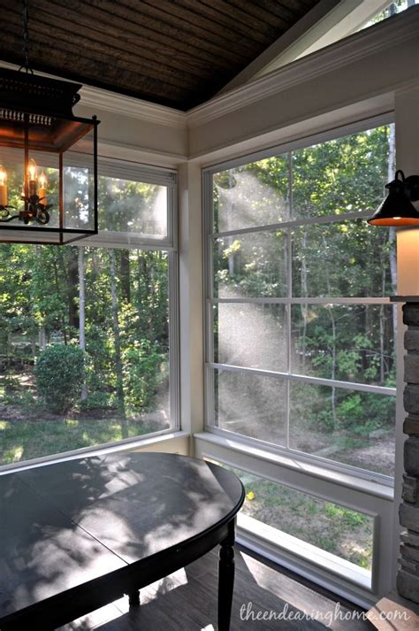 fixed screens with stacking windows decks and porches