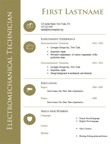 Resume Templates Doc by Resume Templates Doc Resume Templates Doc Resume Cv Cover