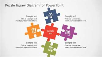 Powerpoint Jigsaw Puzzle Template Free by 5 Puzzle Template For Powerpoint Slidemodel