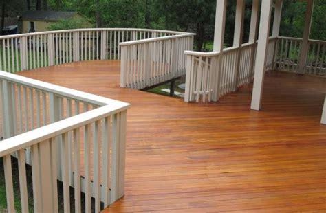 fir  teak  opaque rails seal  deck