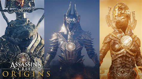 Origins Set Trial assassin s creed origins all trials of the gods how to