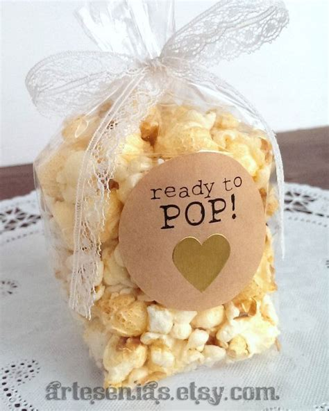 Stickers For Baby Shower Favors by Best 25 Popcorn Bags Ideas On Popcorn Baby