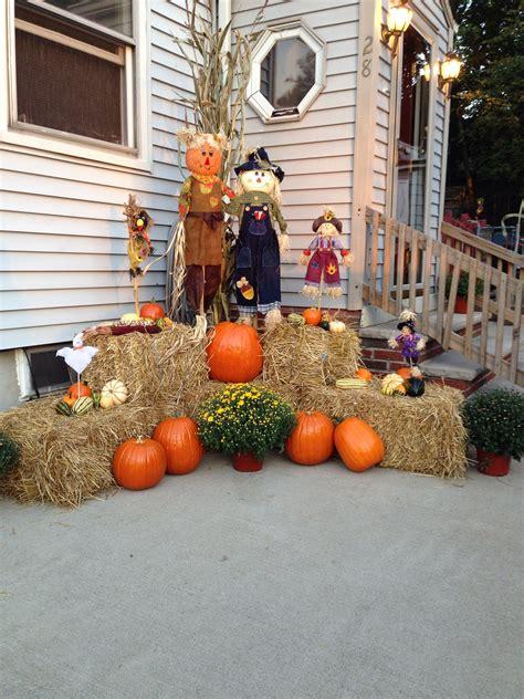 outdoor fall decor fall decor diy   fall yard
