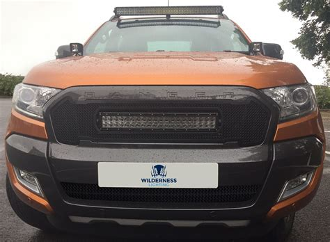 ford ranger lights ford ranger mesh grille curve light bar