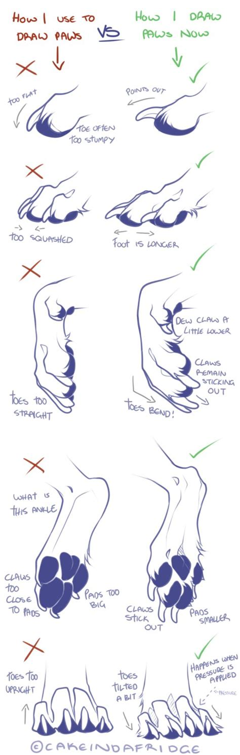 werewolf paw tutorial tutorial how i use to draw my canine paws by
