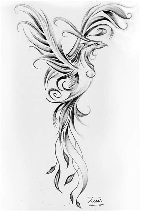 black and grey phoenix tattoo designs 50 latest phoenix tattoos designs