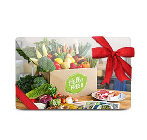 Fresh Gift Card - subscription box swaps hello fresh gift card