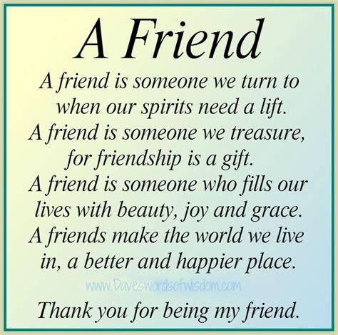 Thank You Letter Friend Quotes Daveswordsofwisdom Com December 2012