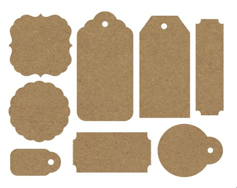 Craft Paper Tags - september kaisercraft official