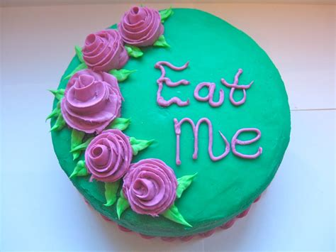 cake me pixie crust quot eat me quot cake and wilton cake decorating class