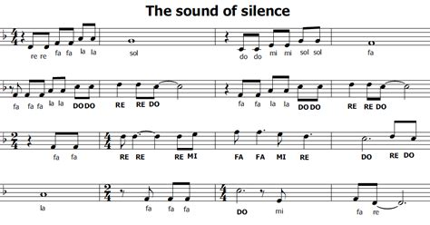 sound of silence testo musica e spartiti gratis per flauto dolce the sound of