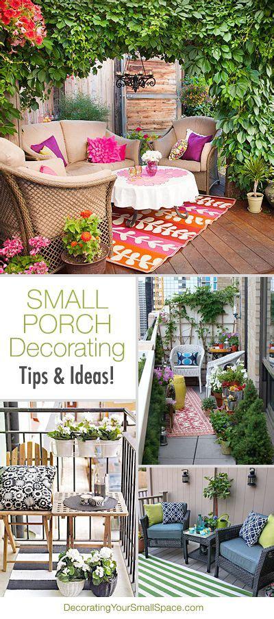 Idee Amenagement Salon 4900 by Small Porch Decorating Ideas Balcons Jardins Et Terrasses