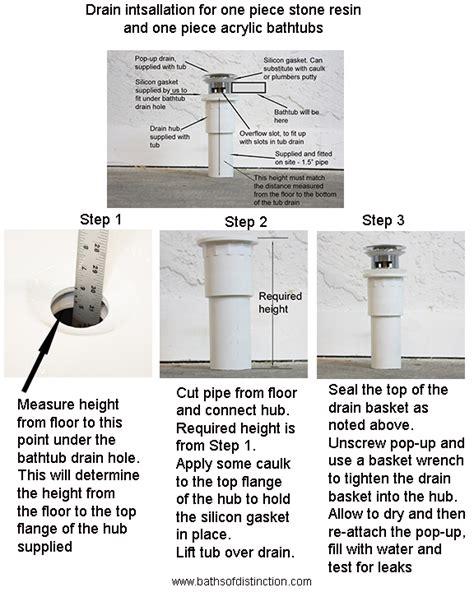 bathtub drain hookup freestanding bathtub kardia67 67 quot long one piece acrylic with integrated drain
