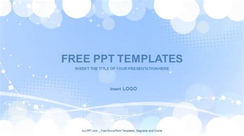 ppt templates white spheres abstract ppt templates