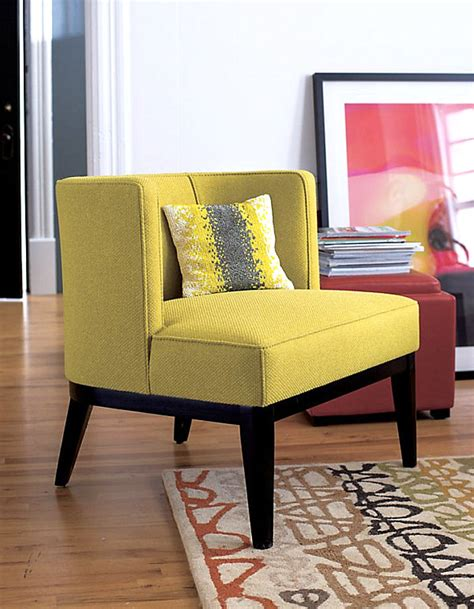 Yellow Chairs Upholstered Design Ideas New Colorful Furniture Finds To Brighten Your Home