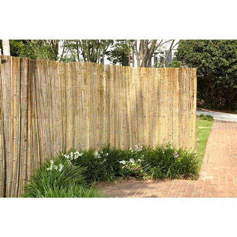 ft    ft  bamboo reed garden fence