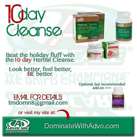 Active Detox Holidays by 24 Best Advocare Images On Food Healthy And