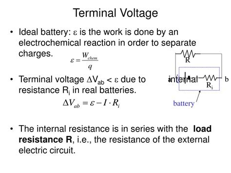 a resistor with resistance r is connected to a battery ppt more on circuits above de graaff generator powerpoint presentation id 259595