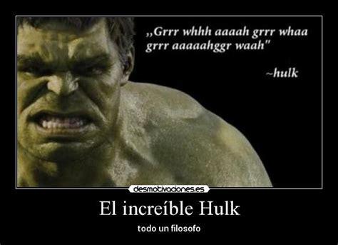 imagenes memes hulk el incre 237 ble hulk desmotivaciones