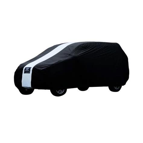 Cover Mobil Sarung Mobil Jazz Hitam Putih jual cover sarung mobil for toyota hitam putih harga kualitas terjamin