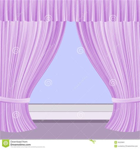 window with curtains clipart window with curtains stock image image 35223661