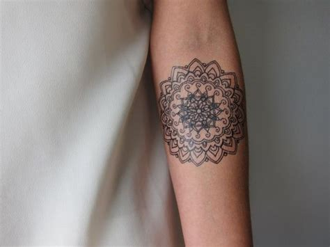 small mandala tattoo small mandala b temporary mandalas