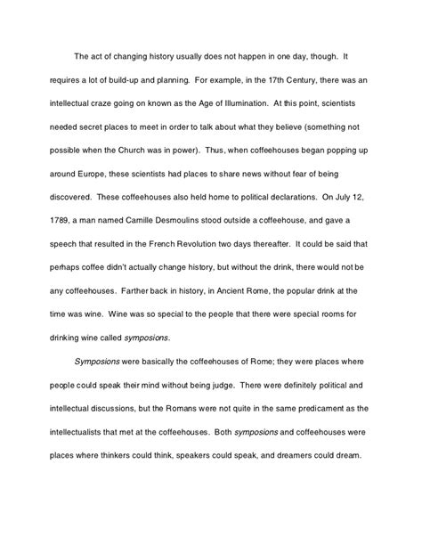 Essay About The World by History Of The World In Six Glasses Essay