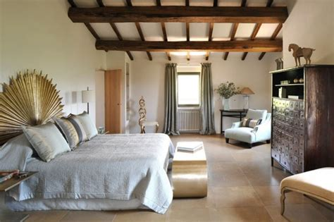 Chic Bedroom Decor by Transition Of A Fortified Italian Farmhouse